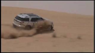 All new Ford Explorer 2011 Test Drive in Dubai