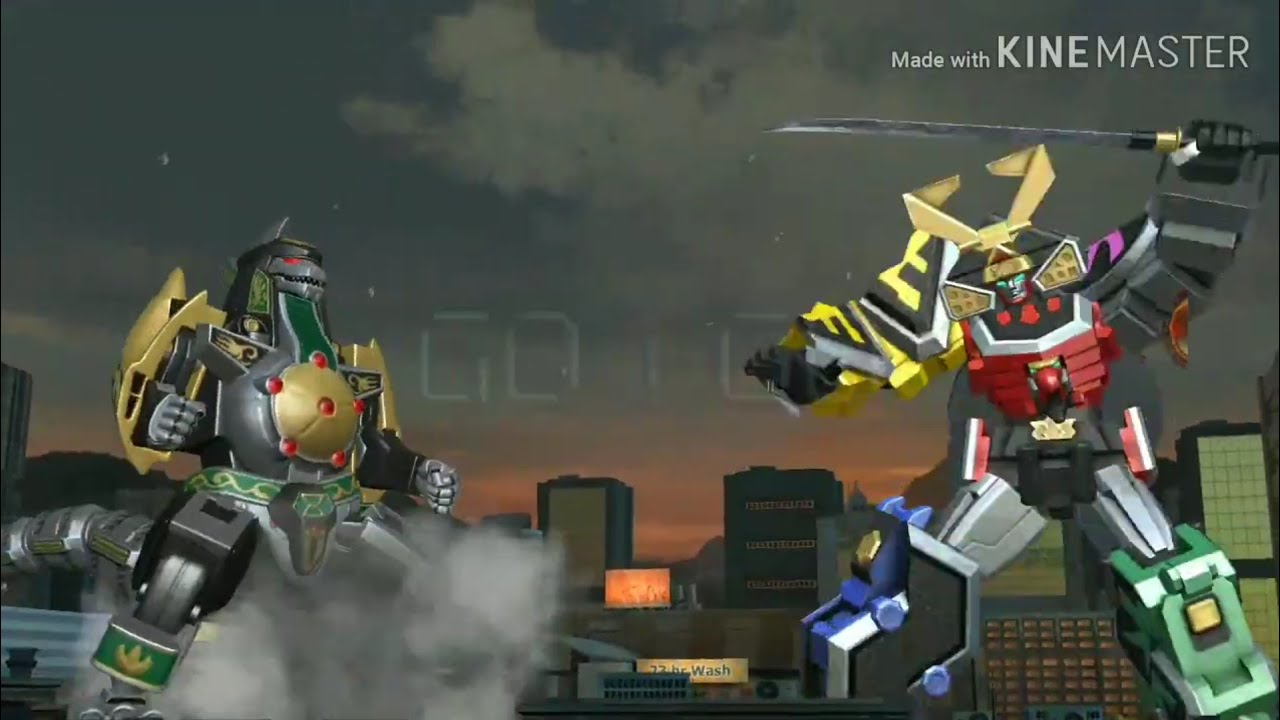 Power Rangers: Legacy Wars - Samurai Megazord VS Dragonzord #2