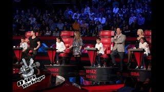 O Ses Türkiye'nin jüri koltuklarına bu kez Diyarbakırlı minikler oturdu!  | O Ses Türkiye 2018