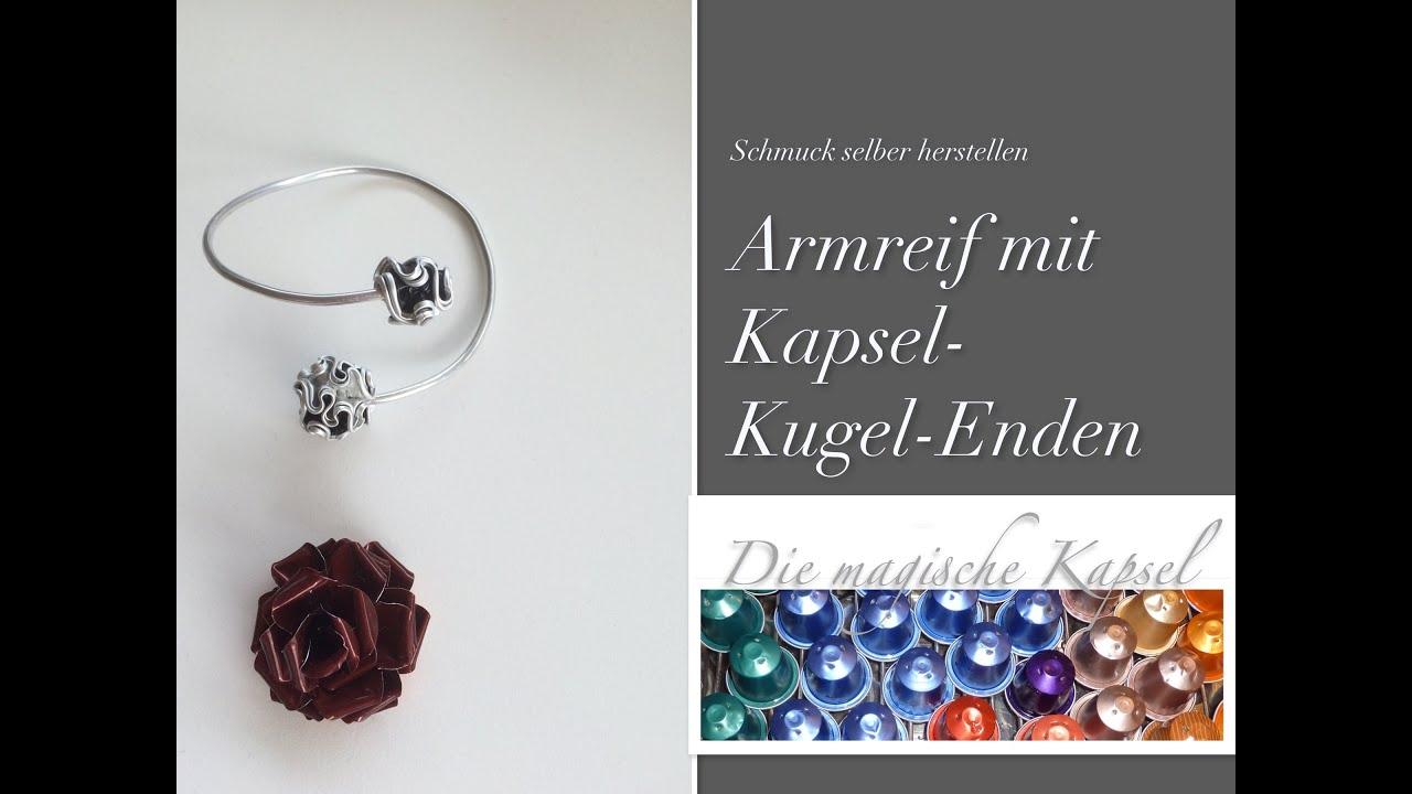 DIY-Armreif aus Draht mit Kapseln - Kapsel Schmuck Anleitung - die ...