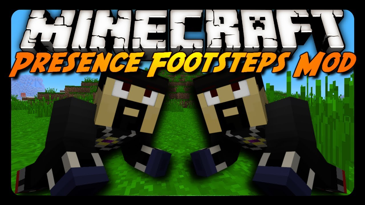 Minecraft Mod Review: PRESENCE FOOTSTEPS! (Major Sound Enhancements)