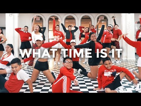 High School al - What Time Is It Dance   besperon Choreography