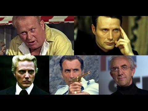 Ranking Of The Bond Villains
