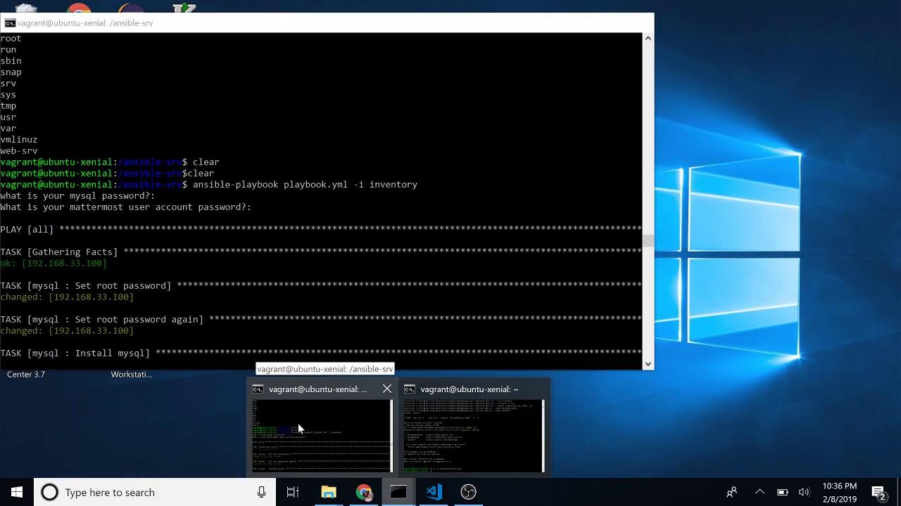 install ansible playbook ubuntu 16.04