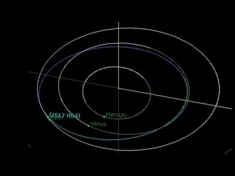 Dangerous Near Earth Asteroid 2017 HG4 Passed Safely