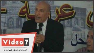 """عبد العظيم مناف: """"عبد الناصر كان عظيم وحارب الرأسمالية المستعمرة"""""""