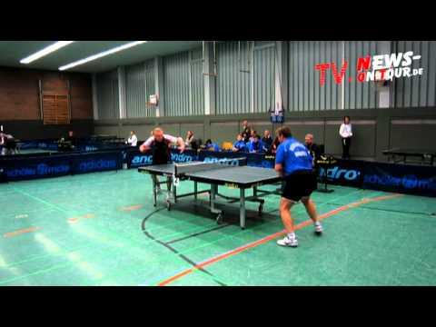 Super TT-Spiel!! Roman Rosenberg vs. Miroslav Bindatsch 2. Bundesliga (05.12.2010)