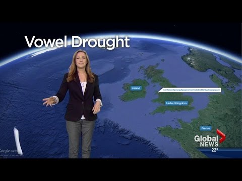 Global News staff try to pronounce Welsh village