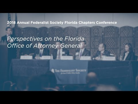 Perspectives on the Florida Office of Attorney General [2018 Annual Florida Chapters Conference]