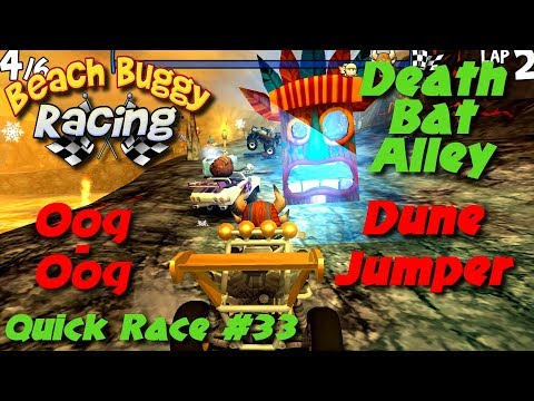 Beach Buggy Racing - Quick Race #33 - 1000 HP - Death Bat Alley