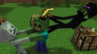 Monster School: Tools - Minecraft Animation