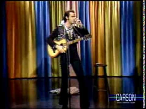 Andy Kaufman's Elvis Presley Impression on Johnny Carson's Tonight Show, 1977