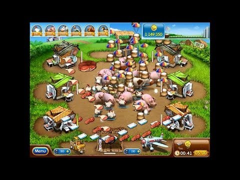 FARM FRENZY 2 HACK ALL THE GAME - YouTube