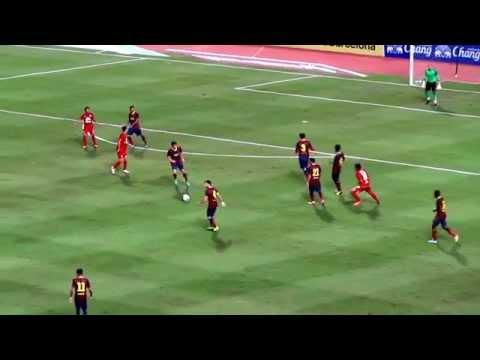 2013 FC Barcelona Asian Tour: Thailand 1-7 FC Barcelona