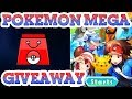 Pokemon Mega Online Game - Gameplay - Novice Pack Giveaway / No Commentary
