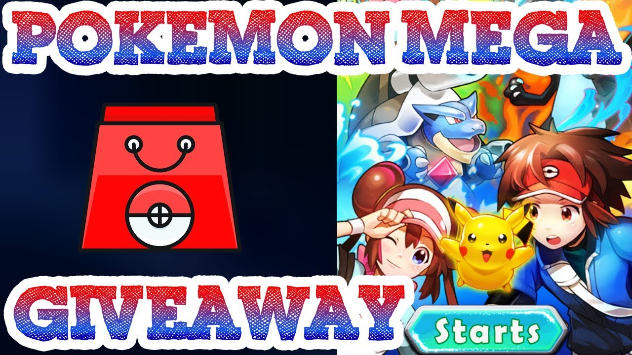 pokemon mega online game - gameplay - novice pack giveaway / no