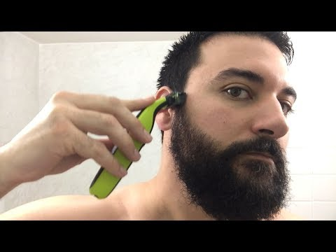 Beard Trimming - Philips Norelco OneBlade Trimmer and Shaver