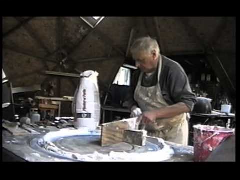 Rocco Armento - works at his studio, Woodstock 2001