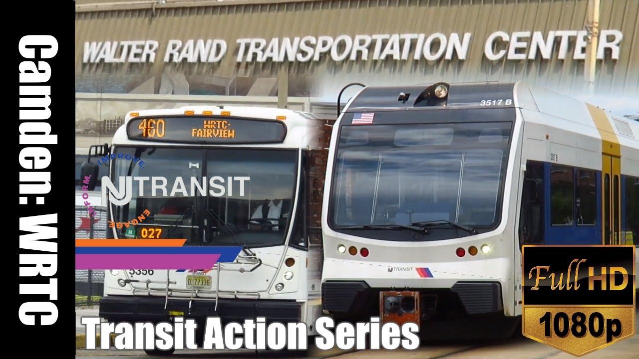 Camden Walter Rand Transportation Center Nj Transit Tracse 2019 Youtube