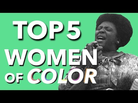 TOP 5 Women of Color Who Shaped America | the Lala: Empowering Young Women