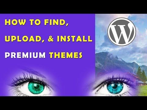 Install Premium WordPressThemes: Theme Install from Themeforest – Steps in Description 2015