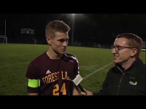 Boys Soccer Forest Lake At Blaine - 7AA Q-F, 10.10.17