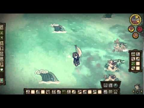 [Don't starve shipwrecked] - A real fight with boat canon