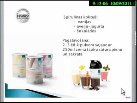 Produkti svara regulēšanai no Spirulinas,ko piedāvā NWA-network world allianse