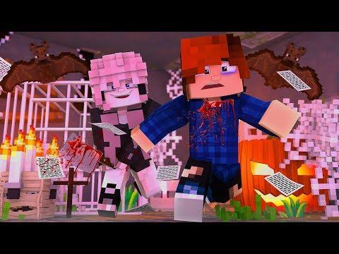 EXPLORING HAUNTED YANDERE DUNGEON  Rosewood High School Minecraft School Roleplay E1