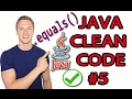 Java Clean Code Tutorial #5 - Comparing String Constants