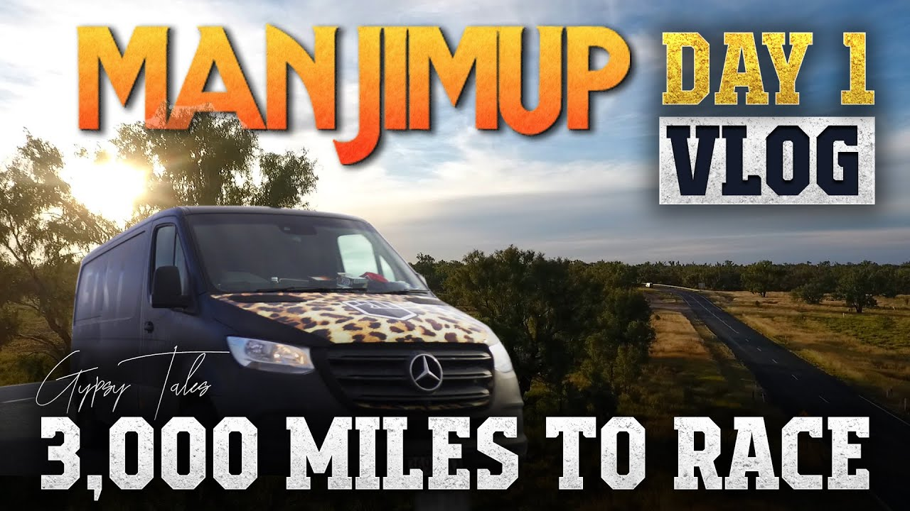 3,000 Miles across Australia to race the Manjimup 15000 - Worlds most remote Motocross race!!!