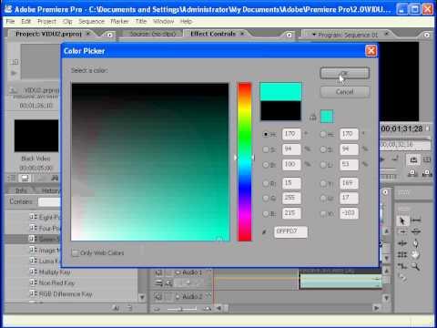 Adobe Premier Pro 2 - Phan 4 - Bai 1 - TAO DOAN PHIM DEM NGUOC