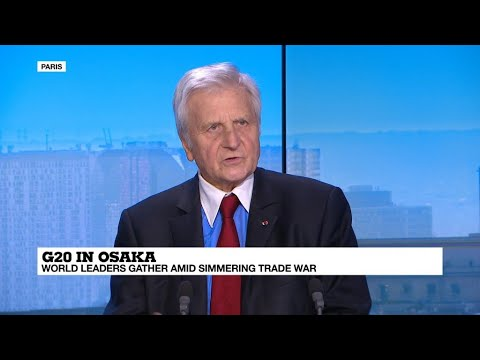 """Business daily - Jean-Claude Trichet: """"Anything could happen"""" in US-China trade war"""