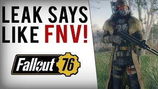 FALLOUT 76 - Leak Says Like New Vegas?! New Vault Image, Bethesda Rumor Response & More Info!