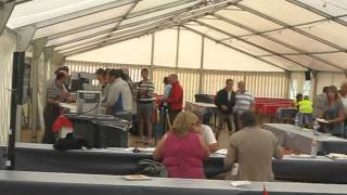 The Food Tent At The 2012 European Junior/young Rider Championships