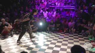 Kate vs Jeskilz - Bgirl Semifinals Outbreak Hiphop Festival 10 Year Anniversary