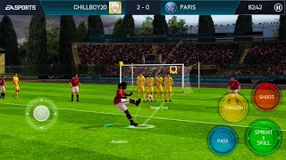 HOW RONALDINHO ICON TAKES PENALTIES / FREE KICKS in fifa mobile S2 - Unique Run Style and Gameplay