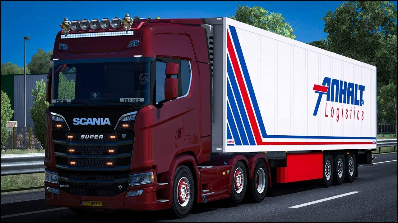 New Generation Scania 2016 V8 closed window Sound Mod | Euro Truck  Simulator 2 (ETS2 1 30)