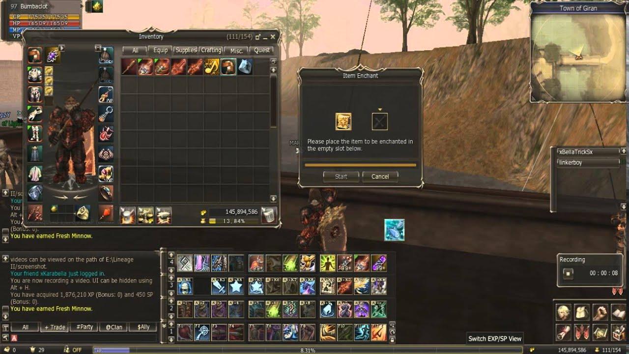 дроп blessed scroll: enchant armor grade a