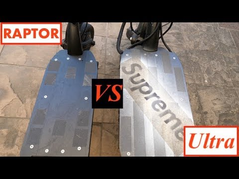 Dualtron Raptor Vs Dualtron Ultra - My Thoughts...