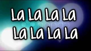 LA LA LA -Auburn Ft. Iyaz [Lyrics on Screen & description]
