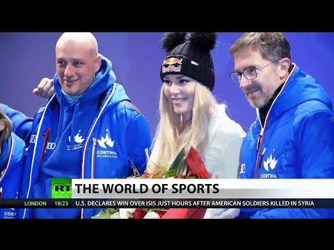 RT America: Lindsey Vonn Set to Make World Cup Debut