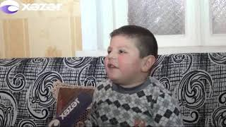 Ağstafada 5 yaşlı uşaq sosial şəbəkələrin ulduzuna çevrilib
