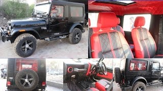 Modified Thar with hardtop and sunroof by Ankita jeeps