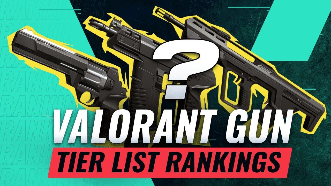 Download BEST VALORANT GUNS - Tier List by CSGO Pros