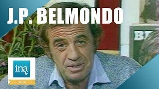 """Jean-Paul Belmondo """"Le solitaire"""" - Archive INA"""