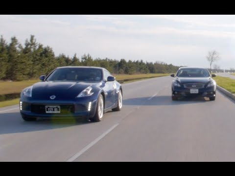Nissan 370z Vs Infiniti G37 Speedstalkers Youtube
