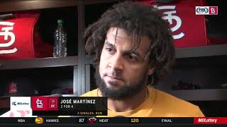 """Martínez on Cardinals facing 3-0 deficit: """"It's baseball — anything can happen"""""""