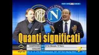 Diretta Stadio 7Gold (NAPOLI INTER 2-2) Il Napoli stacca la spina e l'Inter ne approfitta