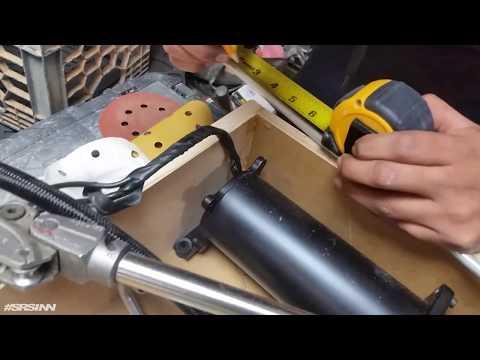 Accuair air suspension Hardlines Trunk Fabrication in Infinity G35